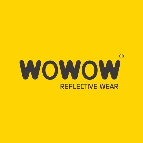 XL Sicherheitsweste Wowow für Erwachsene gelb mit Reflexstreifen Gr